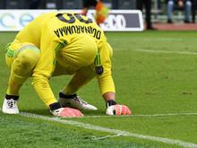 Kein guter Tag für Milan und Keeper Gianluigi Donnarumma
