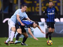 Inter und Lazio trennten sich torlos