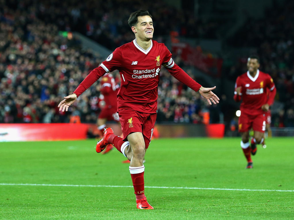 FC Barcelona bietet Trikot von Liverpool-Star Philippe Coutinho an
