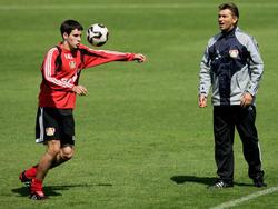 Josip Tadic konnte sich als 17-Jähriger bei Bayer Leverkusen nicht durchsetzen
