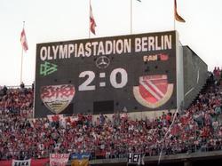 Vor 20 Jahren trafen Stuttgart und Cottbus im DFB-Pokalfinale aufeinander