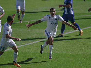 Dani Ceballos bejubelte für Real Madrid einen Doppelpack