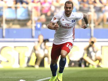 Pierre-Michel Lasogga erzielte das 3:0 für seinen HSV