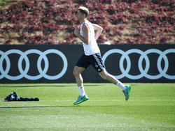 Robert Lewandowski hat am Dienstag wieder mit dem Team des FC Bayern trainiert