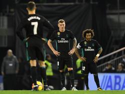 Reale Enttäuschung bei Cristiano Ronaldo, Toni Kroos und Marcelo