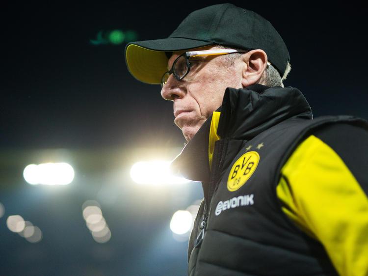Hat sich zu seiner Zukunft beim BVB geäußert: Peter Stöger
