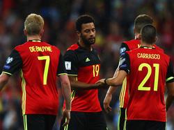 Belgien hat das WM-Ticket bereist sicher