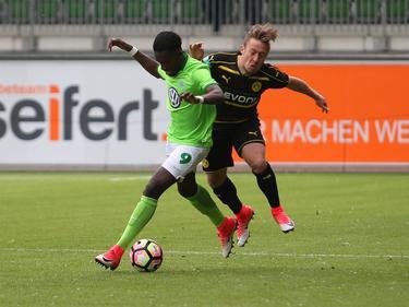 Die U19 des BVB gewinnt das Hinspiel beim VfL Wolfsburg