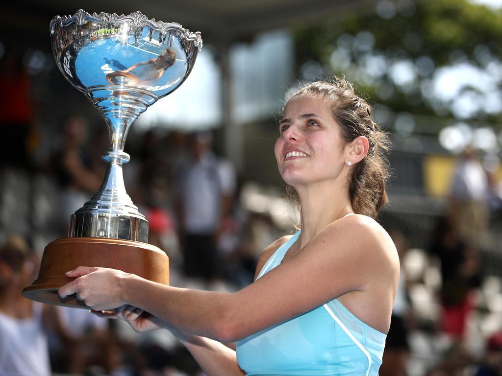Görges gewann Turnier in Auckland und sagte Sydney-Start ab