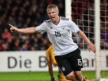 Philipp Ochs traf für die deutsche U21 doppelt