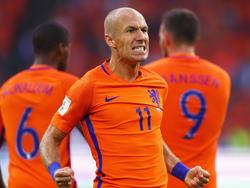 Elftal-Kapitän Arjen Robben traf zum 2:0