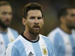 Messi ist Anführer Argentiniens, Higuaín (l.) ist aus dem Fokus verschwunden