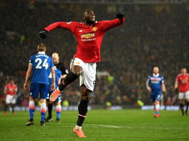 Romelu Lukaku erzielte das 3:0 für Manchester United