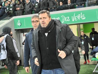 Óscar García trat im November als Trainer von Saint-Étienne zurück