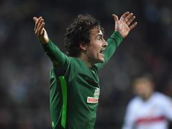 Ein Einsatz von Werders Thomas Delaney zum Rückrundenauftakt ist fraglich