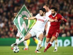 Bei Werder Bremen im Gespräch: Serdar Tasci