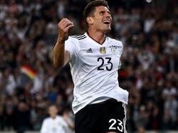 Mario Gomez zieht in der ewigen DFB-Torschützenliste mit Ernst Lehner gleich