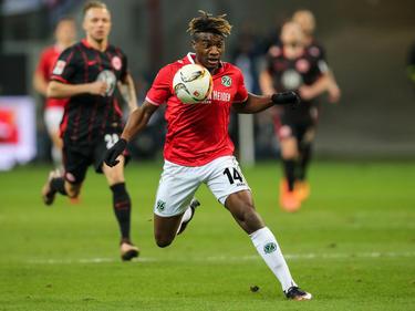 Allan Saint-Maximin spielte einst auf Leihbasis bei Hannover 96