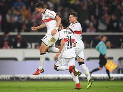 Mario Gomez feiert ein Traum-Comeback im Trikot des VfB