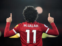 Mohamed Salah hat sich nach seinem Wechsel zum FC Liverpool in den Fokus gespielt