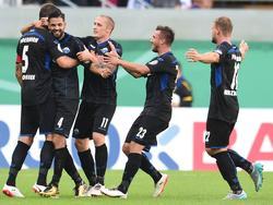 Ganz Paderborn fiebert dem Pokalduell mit dem FC Bayern München entgegen