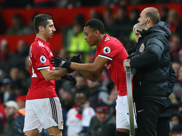 Steht bei Manchester United vor dem Aus: Henrikh Mkhitaryan (l.)