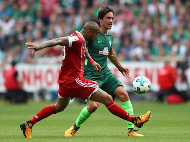 Thomas Delaney (r.) könnte bei Werder Bremen gegen Bayern wieder in die Startelf rücken