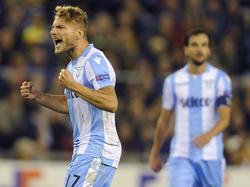 Ciro Immobile sorgte für die Wende bei Lazio