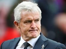 Ab sofort arbeitslos: Hughes wurde bei Stoke entlassen