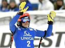 Siegerin in der Abfahrt: Federica Brignone