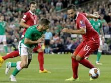 Serbien sichert sich gegen Irland drei Punkte
