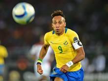 Pierre-Emerick Aubameyang gehört zu den Finalisten bei der Wahl zu Afrikas Fußballer des Jahres 2017