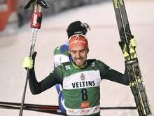 130,5 Meter: Rydzek springt auf Platz sechs