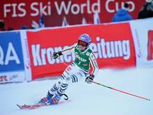 Viktoria Rebensburg muss auch in Cortina passen