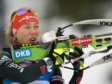 Laura Dahlmeier mit vier Schießfehlern in Ruhpolding
