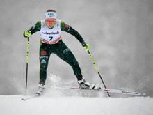 Ringwald (Bild) ist mit Kolb im Teamsprint-Finale