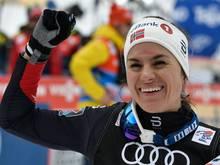 Titel verteidigt: Heidi Weng gewinnt die Tour de Ski