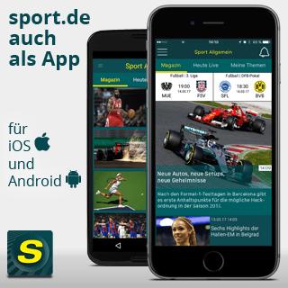 sport.de-app für iOS & Android