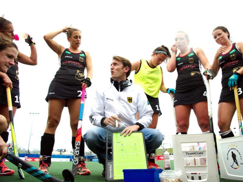 Die von Xavier Reckinger trainierten deutschen Hockey-Damen verloren im Viertelfinale