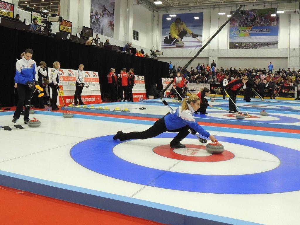 Die deutschen Curling-Damen haben China bezwungen