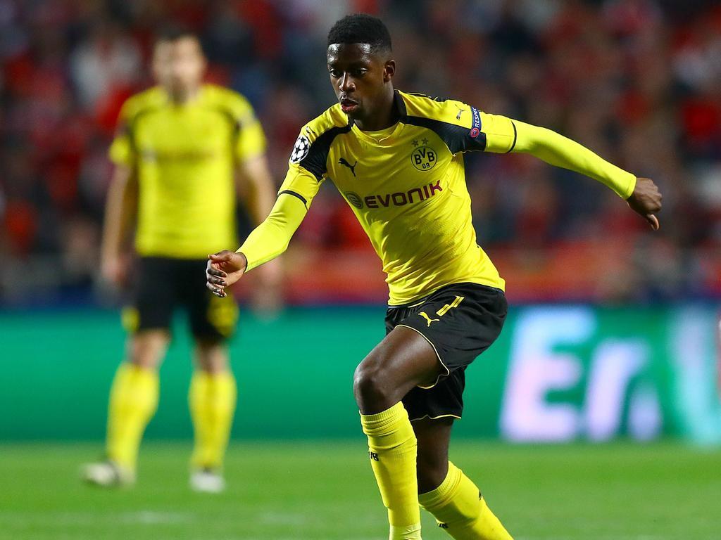 Angreifer Ousmane Dembélé fühlt sich beim BVB wohl