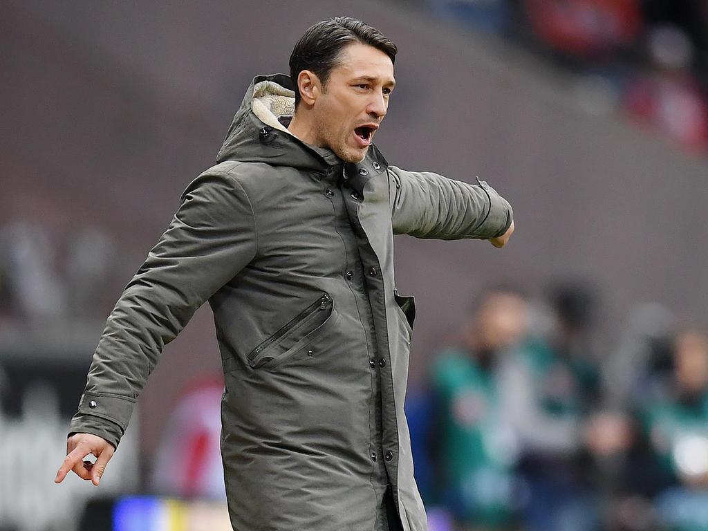 Niko Kovac war mit dem Auftritt seiner Elf vor dem Tor der Gäste nicht zufrieden