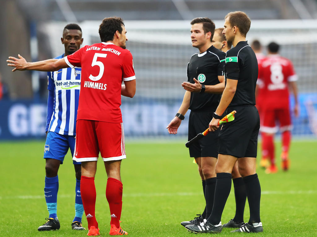 Die Bayern haderten mit Schiri und Ergebnis