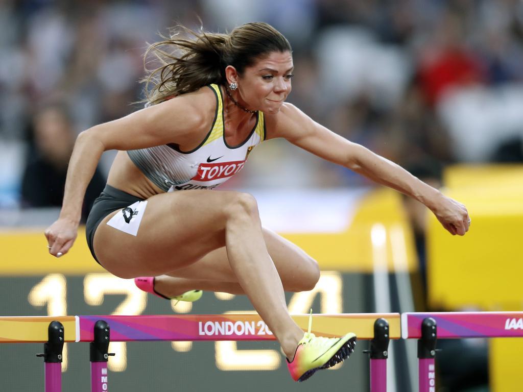 Pamela Dutkiewicz hat bei der WM in London Bronze gewonnen