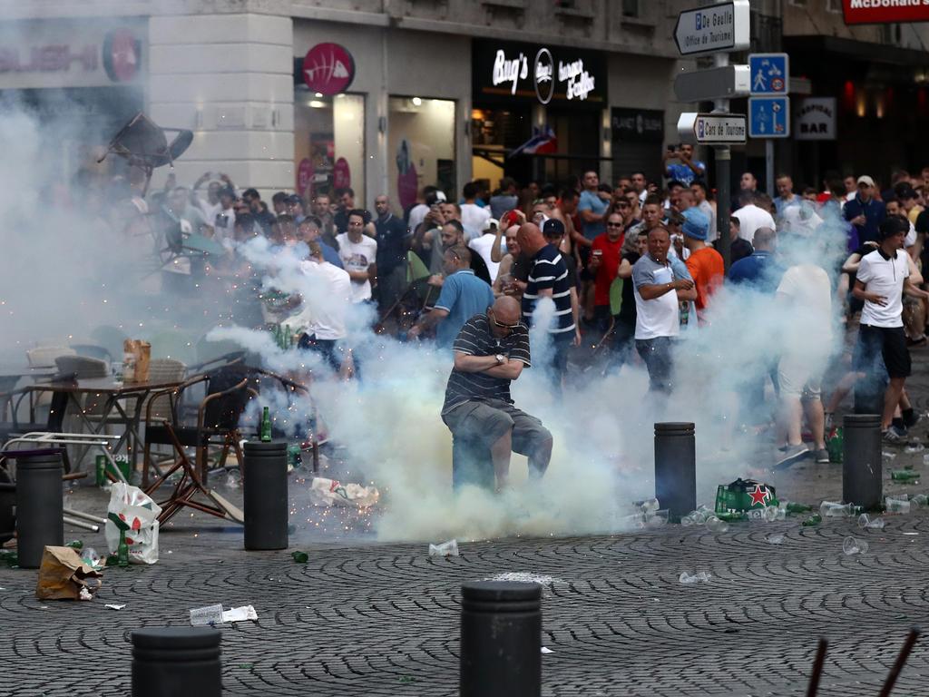 In Marseille gab es im Rahmen der EM schlimme Ausschreitungen