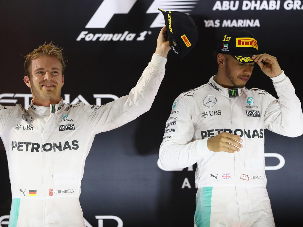 Hielt Nico Rosberg (li.) beim Psychoduell die Fäden in der Hand?