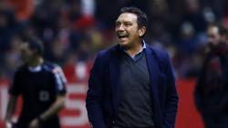 Real Sociedads Trainer Eusebio Sacristán