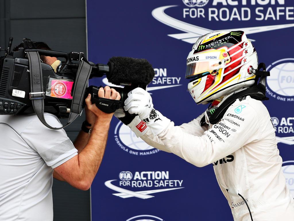 Lewis Hamilton kann in der neuen Saison den Pole-Rekord von Michael Schumacher knacken