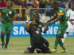 Africa-Cup 2013: Sambias Keeper Mweene trifft