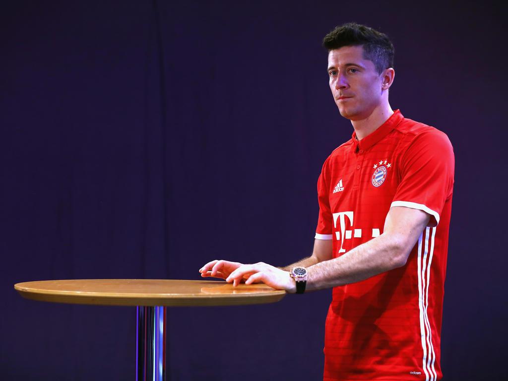 Robert Lewandowski ist sauer auf den FC Bayern